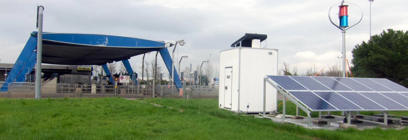 highway tele signaling shelter