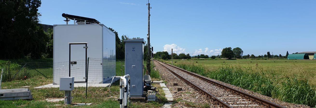 railway tele signaling shelter