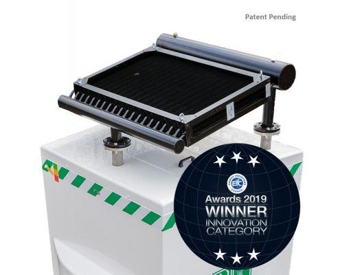 EIC Award 2019 innovation winner with Hughes Zero Power Cooler