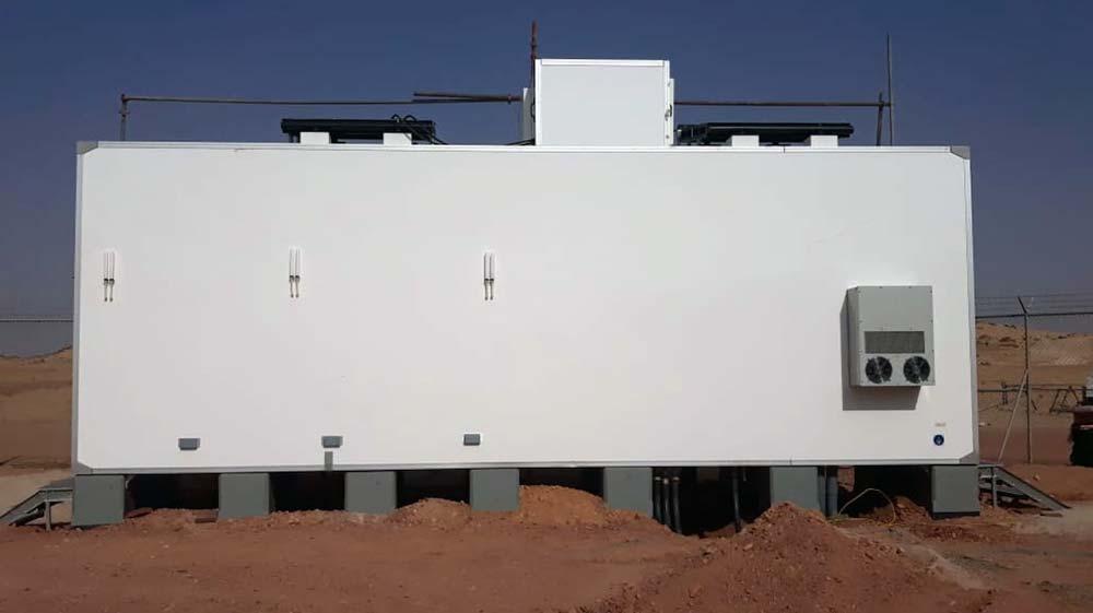 SHELTER   SEMI PASSIVE   Hybrid shelter for ARAMCO